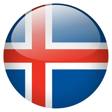 iceland: Iceland Button