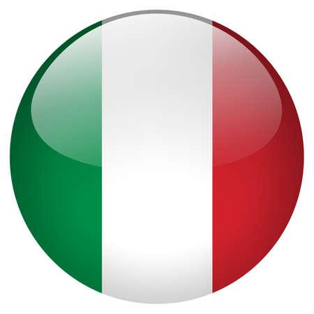 länder: Italien Anstecknadel Lizenzfreie Bilder
