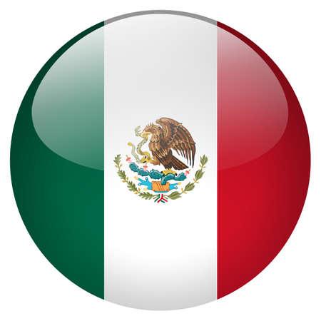round glasses: Mexico Button