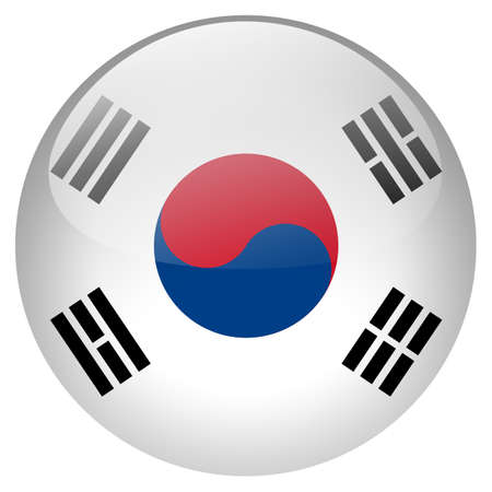 korea: South Korea button