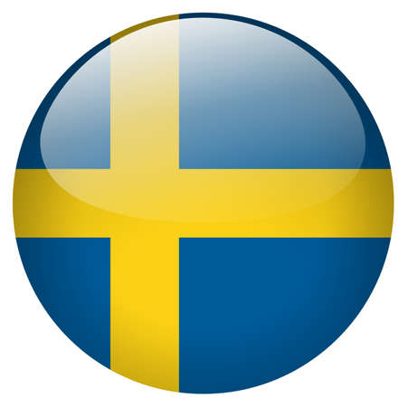 Sweden Button photo
