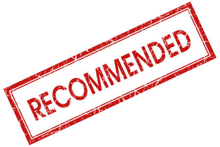recommended: recommended red square stamp