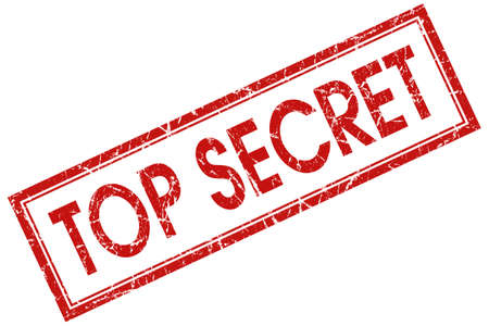 top secret red stamp photo