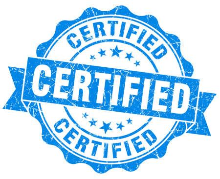 endorsed: Certified Grunge Stamp
