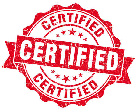 ratify: Certified Grunge Stamp