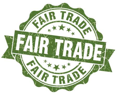 fairtrade: Fair Trade Grunge Stamp