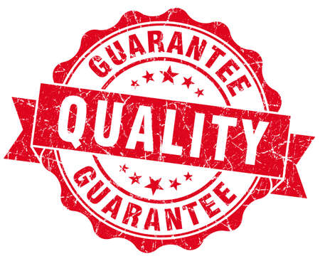 pledge: Quality Guarantee Grunge Stamp