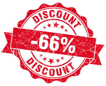 discount 66% red grunge stamp photo