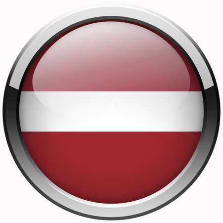 latvia flag: latvia flag gel metal button