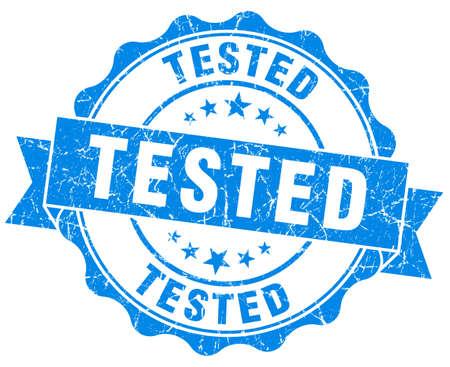 tested: Tested Grunge Stamp
