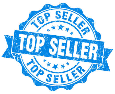 rated: Top Seller Grunge Stamp Stock Photo