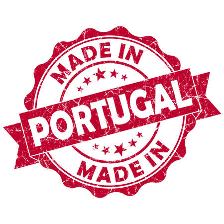 made in portugal grunge seal photo