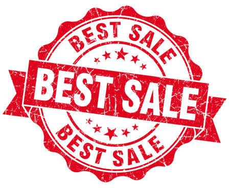 best sale grunge round red seal Stock Photo - 23235263
