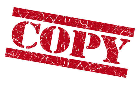 Copy red grunge stamp Stock Photo - 23420883
