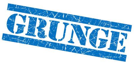 Grunge blue grunge stamp photo
