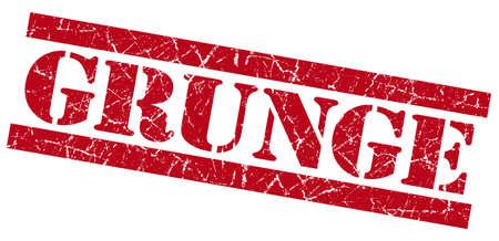 Grunge red grunge stamp Stock Photo - 23421079
