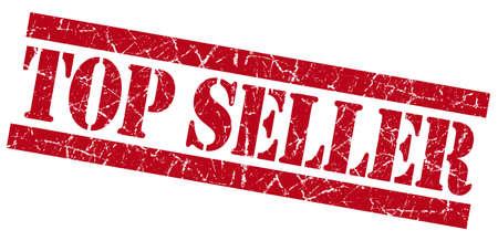 Top seller red grunge stamp