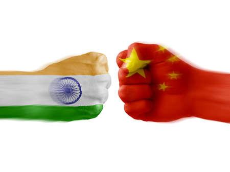 India x China photo