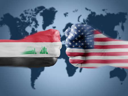 Iraq x USA photo