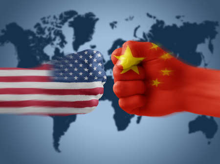 China Flag Map Images Stock Pictures Royalty Free China Flag - China map in us flag