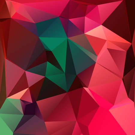 Abstract triangle geometric square colorful vector background Vector