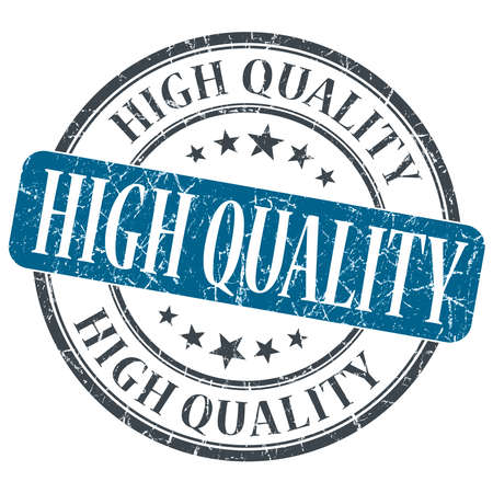 rated: High quality blue grunge textured vintage isolated stamp