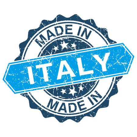 made in Italy vintage stamp isolated on white background Vector