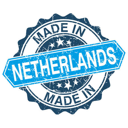 made in netherlands: made in Netherlands vintage stamp isolated on white background