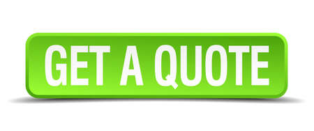 cite: get a quote green 3d realistic square isolated button