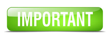 important green square 3d realistic isolated web button Illustration