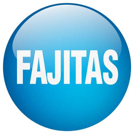 gel: fajitas blue round gel isolated push button