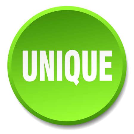 the unique: unique green round flat isolated push button