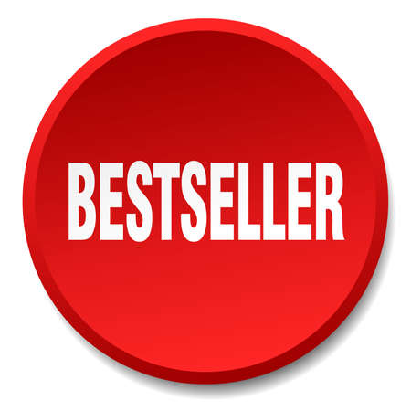 bestseller: bestseller red round flat isolated push button