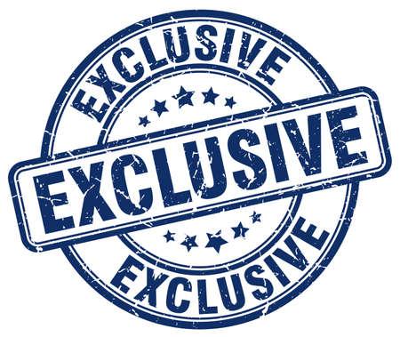exclusive: exclusive blue grunge round vintage rubber stamp