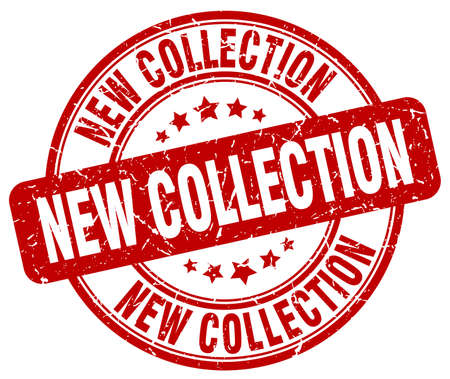 new collection: new collection red grunge round vintage rubber stamp