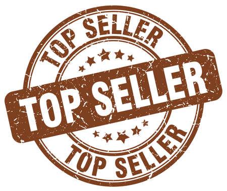 top seller: top seller brown grunge round vintage rubber stamp