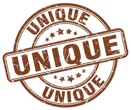 the unique: unique brown grunge round vintage rubber stamp