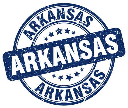 arkansas: Arkansas blue grunge round vintage rubber stamp.Arkansas stamp.Arkansas round stamp.Arkansas grunge stamp.Arkansas.Arkansas vintage stamp.