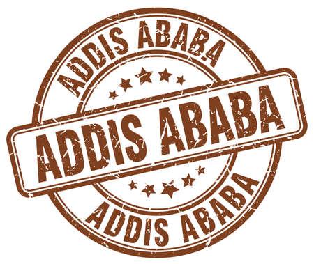 ababa: Addis Ababa brown grunge round vintage rubber stamp.Addis Ababa stamp.Addis Ababa round stamp.Addis Ababa grunge stamp.Addis Ababa.Addis Ababa vintage stamp.