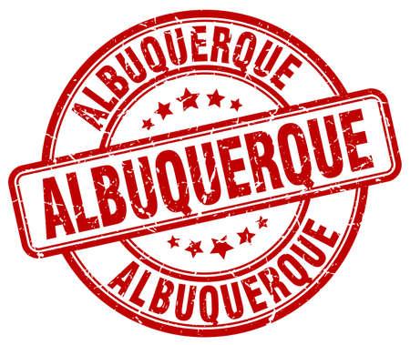 albuquerque: Albuquerque red grunge round vintage rubber stamp.Albuquerque stamp.Albuquerque round stamp.Albuquerque grunge stamp.Albuquerque.Albuquerque vintage stamp.
