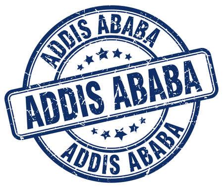 ababa: Addis Ababa blue grunge round vintage rubber stamp.Addis Ababa stamp.Addis Ababa round stamp.Addis Ababa grunge stamp.Addis Ababa.Addis Ababa vintage stamp.