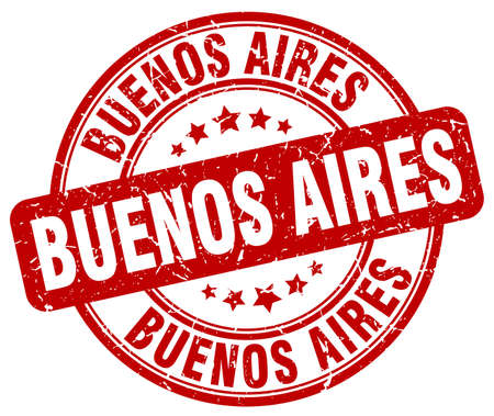 aires: Buenos Aires red grunge round vintage rubber stamp.Buenos Aires stamp.Buenos Aires round stamp.Buenos Aires grunge stamp.Buenos Aires.Buenos Aires vintage stamp.