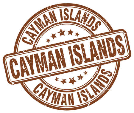 cayman islands: Cayman Islands brown grunge round vintage rubber stamp.Cayman Islands stamp.Cayman Islands round stamp.Cayman Islands grunge stamp.Cayman Islands.Cayman Islands vintage stamp. Illustration
