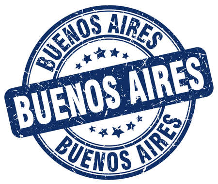 aires: Buenos Aires blue grunge round vintage rubber stamp.Buenos Aires stamp.Buenos Aires round stamp.Buenos Aires grunge stamp.Buenos Aires.Buenos Aires vintage stamp.