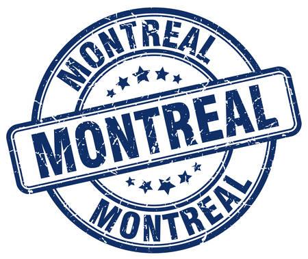 grunge rubber stamp: Montreal blue grunge round vintage rubber stamp.Montreal stamp.Montreal round stamp.Montreal grunge stamp.Montreal.Montreal vintage stamp.