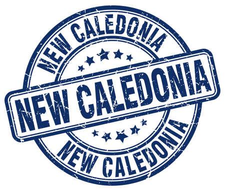 new caledonia: New Caledonia blue grunge round vintage rubber stamp.New Caledonia stamp.New Caledonia round stamp.New Caledonia grunge stamp.New Caledonia.New Caledonia vintage stamp.