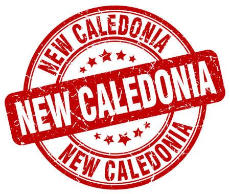 new caledonia: New Caledonia red grunge round vintage rubber stamp.New Caledonia stamp.New Caledonia round stamp.New Caledonia grunge stamp.New Caledonia.New Caledonia vintage stamp.