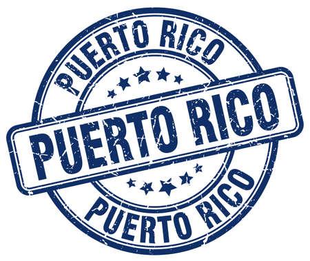 rico: Puerto Rico blue grunge round vintage rubber stamp.Puerto Rico stamp.Puerto Rico round stamp.Puerto Rico grunge stamp.Puerto Rico.Puerto Rico vintage stamp.
