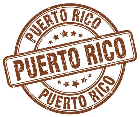 rico: Puerto Rico brown grunge round vintage rubber stamp.Puerto Rico stamp.Puerto Rico round stamp.Puerto Rico grunge stamp.Puerto Rico.Puerto Rico vintage stamp.