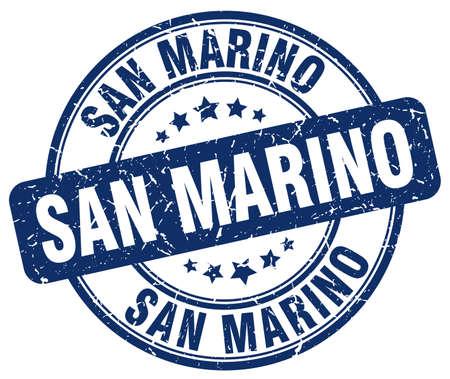 marino: San Marino blue grunge round vintage rubber stamp.San Marino stamp.San Marino round stamp.San Marino grunge stamp.San Marino.San Marino vintage stamp.